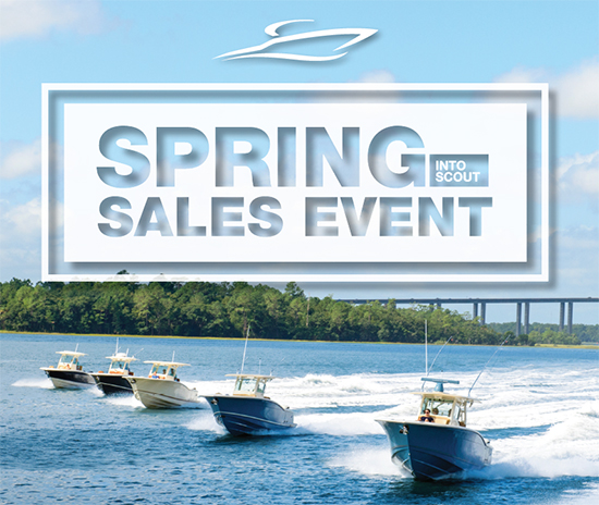 Scout Spring sales event