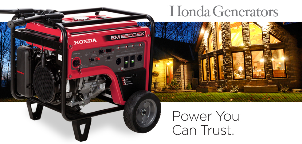 lawn survive suburban equipment a honda with generators power outage